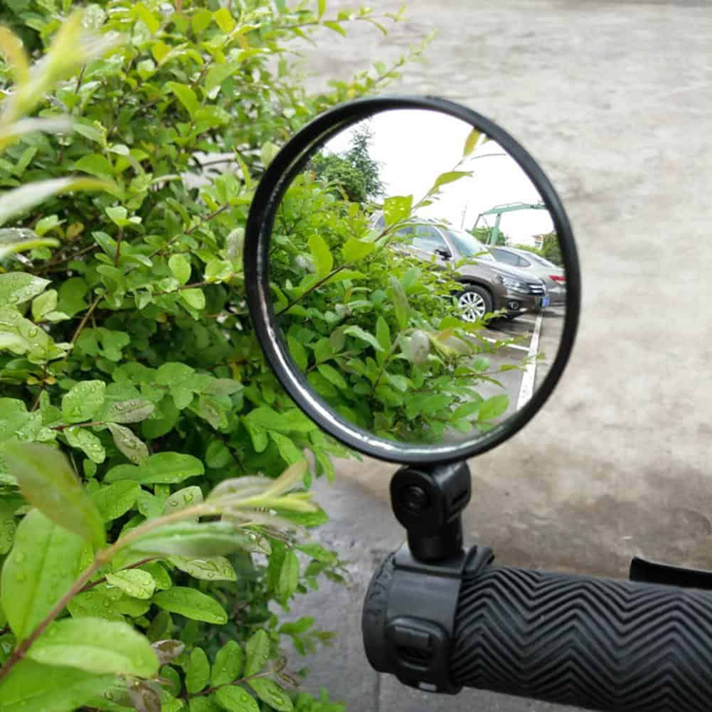 Bicycle's Wide-Angle Rearview Mirrors